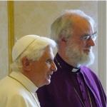 Rowan Williams e papa Benedetto XVI