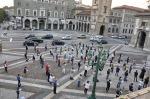 """Manifestazione delle """"Sentinelle in piedi"""" a Milano"""